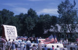 Fourth of July Parade, Gettysburg Address Float, 1963