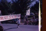Fourth of July Parade, Fire Department Junior Activities Banner, 1963